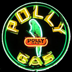 Polly Gasoline Sign