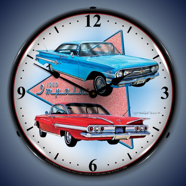 1960 Impala Lighted Clock