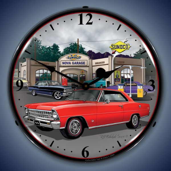 1967 Nova Lighted Clock