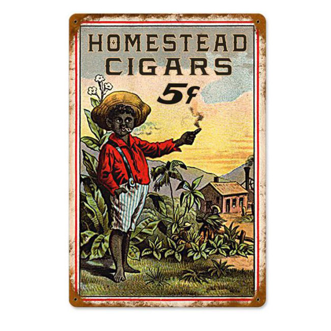 Homestead Cigar Sign