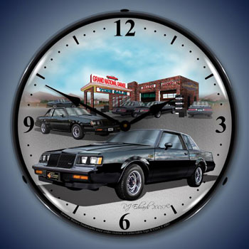 1987 Buick Grand National Lighted Clock