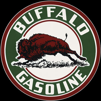 Buffalo Gasoline Sign