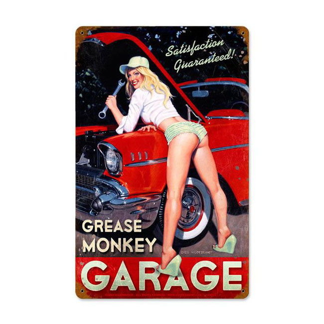 Grease Monkey Garage Sign