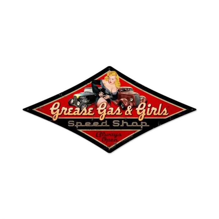 Grease Gas & Girls Speed Shop