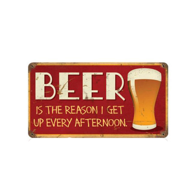 Beer Every Afternoon Sign