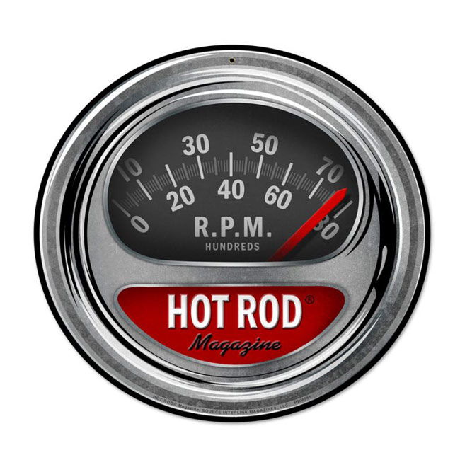 Hot Rod Tach Sign