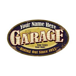 a918f36cefd7a Personalized Garage Sign