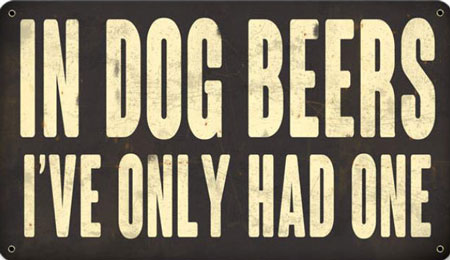 In Dog Beers I