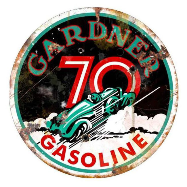 Gardner Gasoline Sign