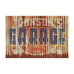 Rustic Personalized Garage Sign