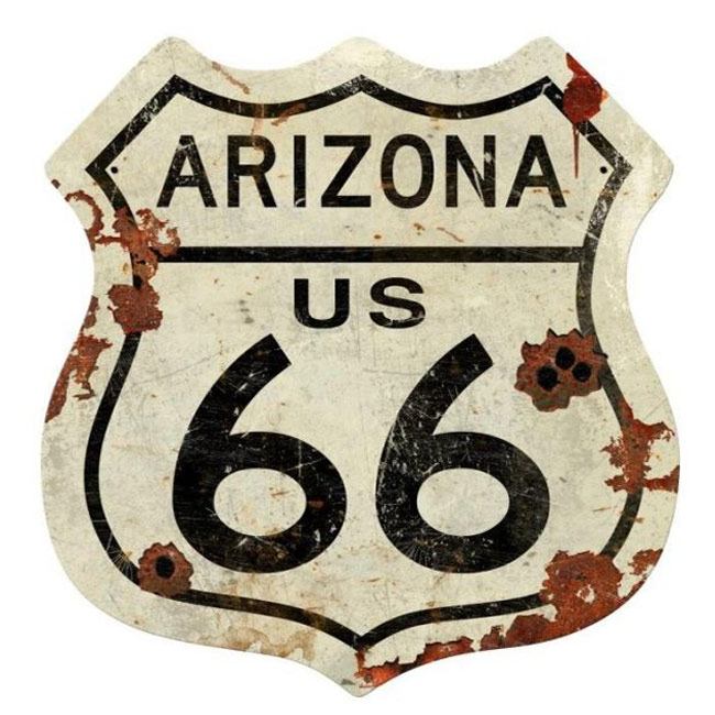 Arizona Route 66 Vintage Sign