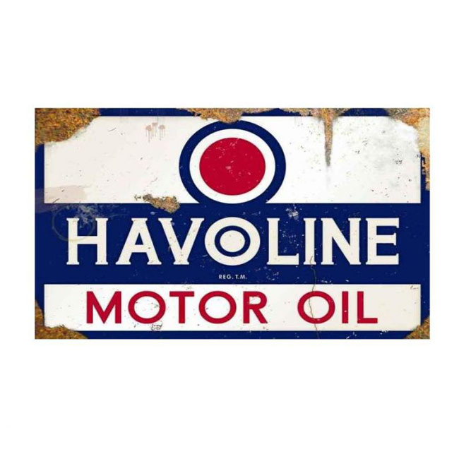 Havoline Motor Oil Vintage Sign