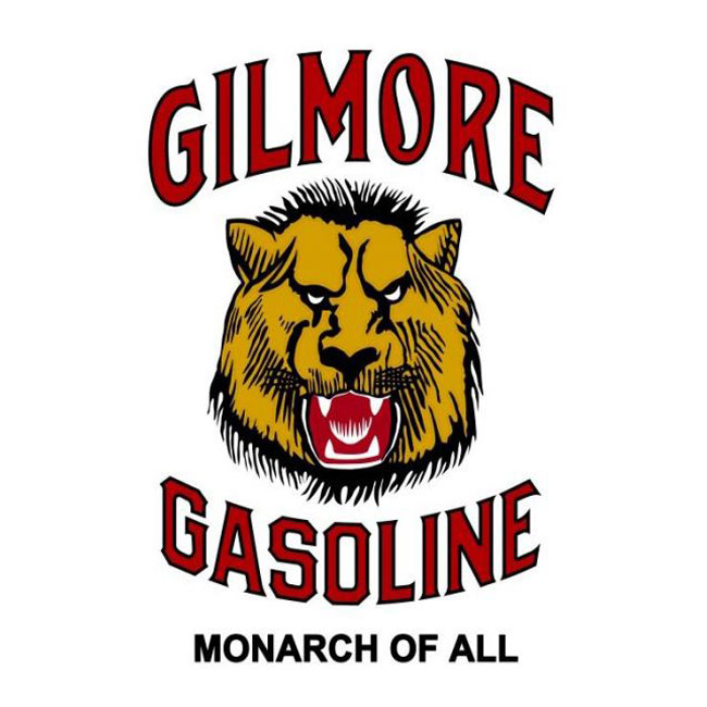 Gilmore Gasoline Monarch of All Sign