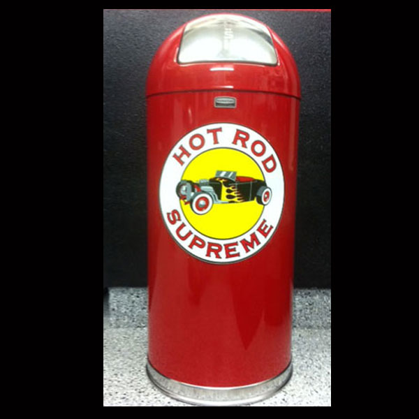 Hot Rod Supreme Retro Trash Can
