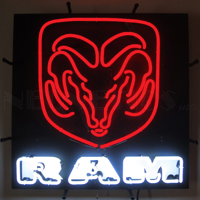 Dodge Ram Neon Sign