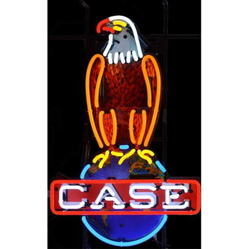 International Harvester Case Eagle Sign