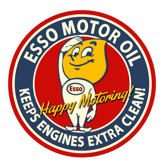 Esso Motor Oil 42 Inch Sign