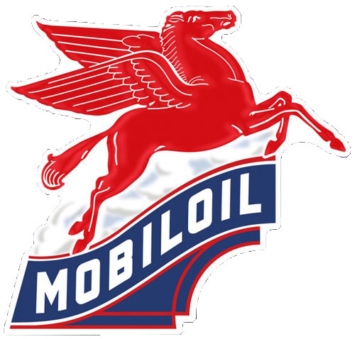 Mobil Oil Sign.