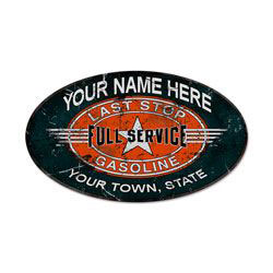 Garage Sign Personalized Extra Large