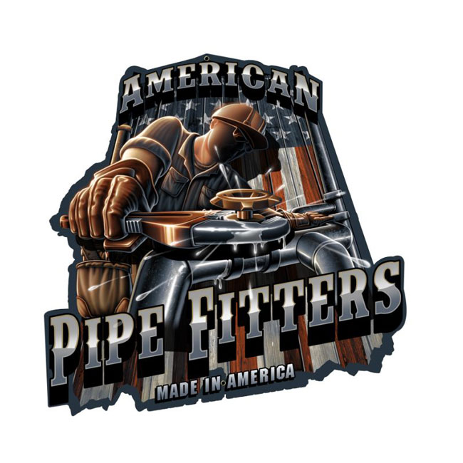 Pipe Fitter Sign