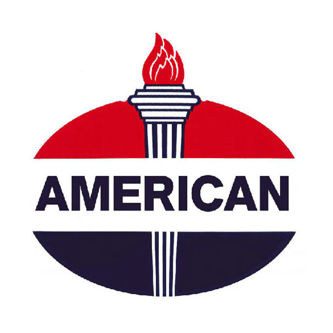 American Gasoline Sign