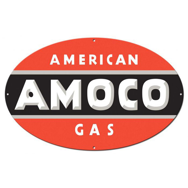 Amoco Gas Sign