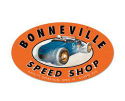 Bonneville Speed Shop Sign