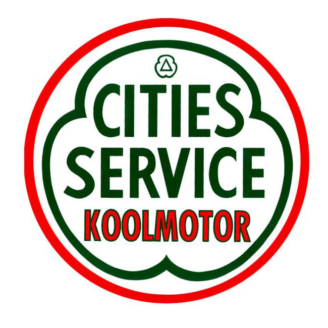 Cities Service Koolmotor Sign
