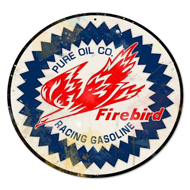 Pure Firebird Racing Gasoline Sign