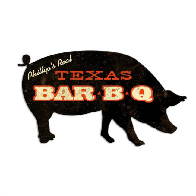 Bar BQ Sign Personalized