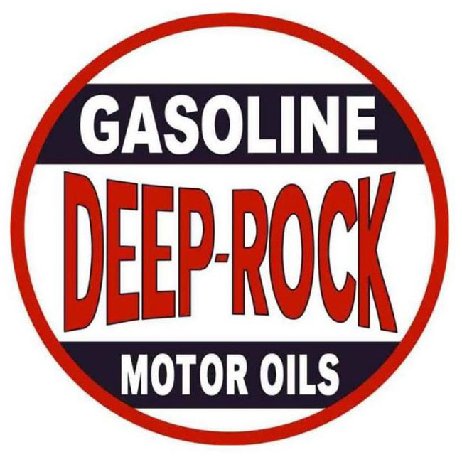 Deep Rock Oil Sign