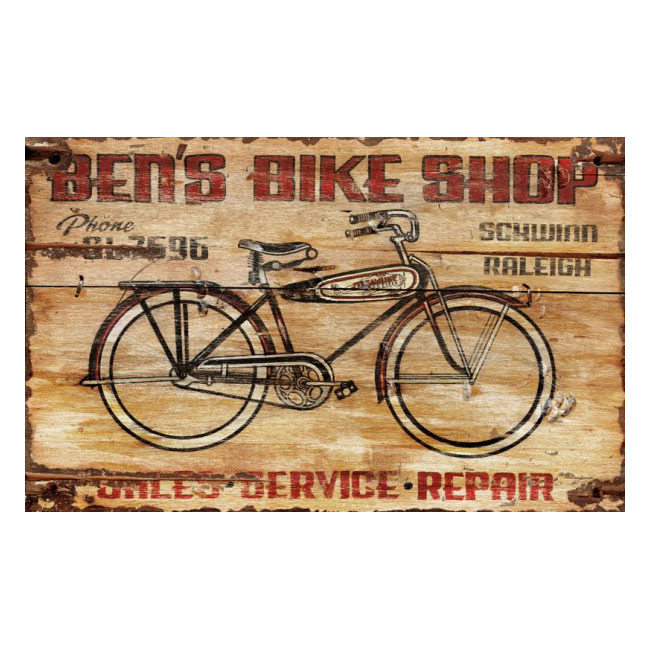 Bike Shop Sign Personalized