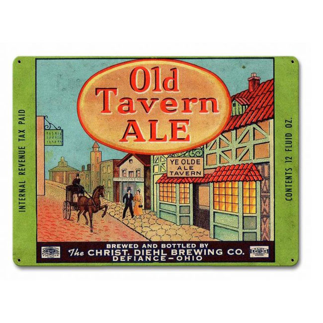 Old Tavern Ale Sign