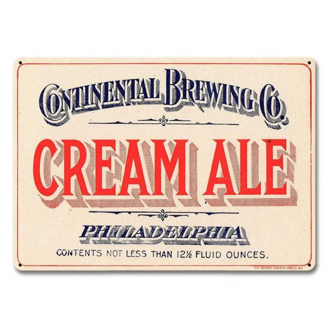 Cream Ale Sign