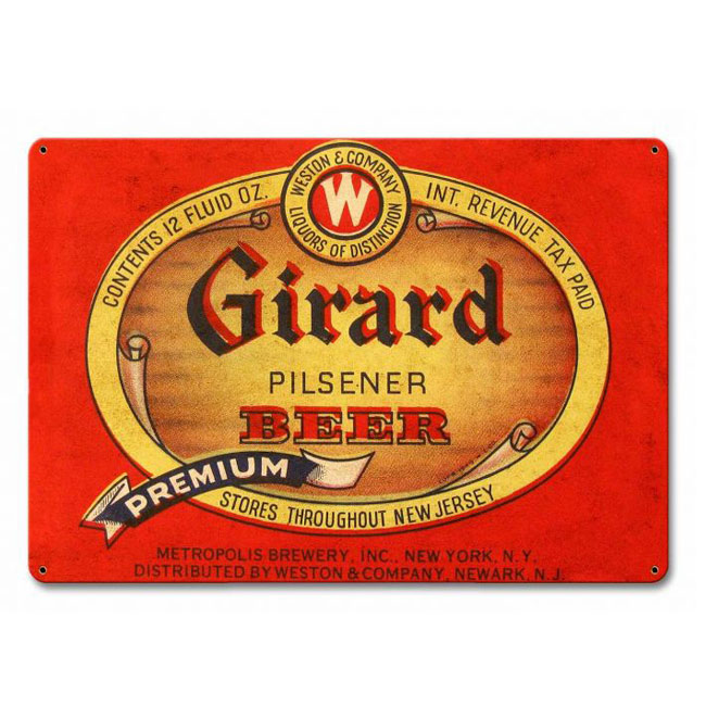 Girard Beer Sign