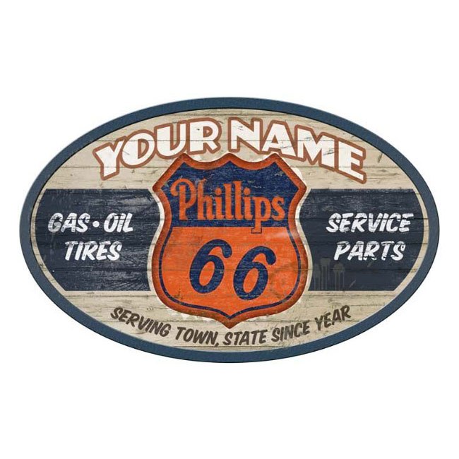 Phllips 66 Personalized Sign