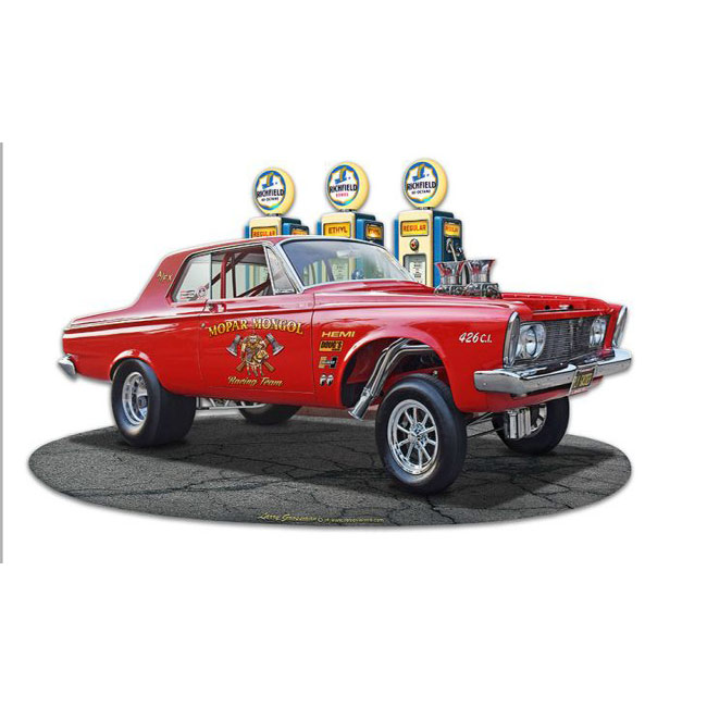 1963 Plymouth Gasser Sign