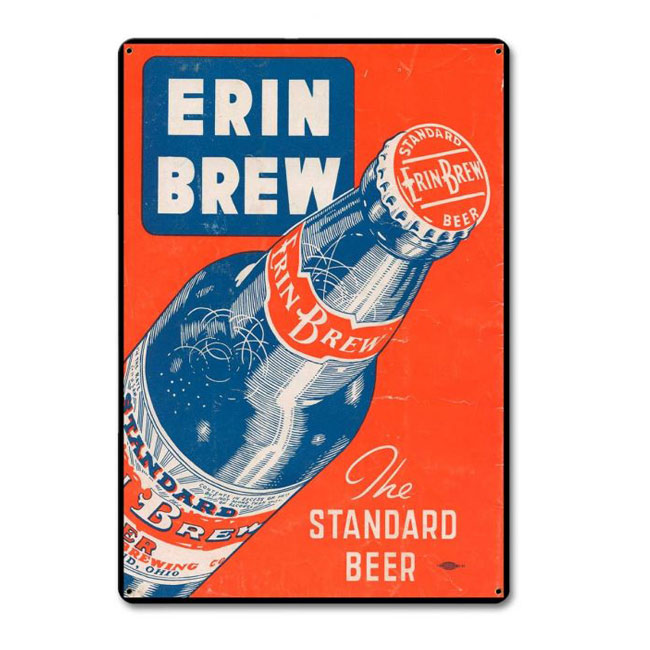 Erin Brew Beer Sign