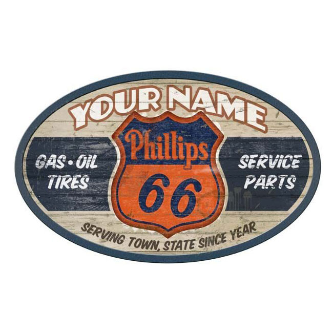Phillips 66 Custom Personlized Sign
