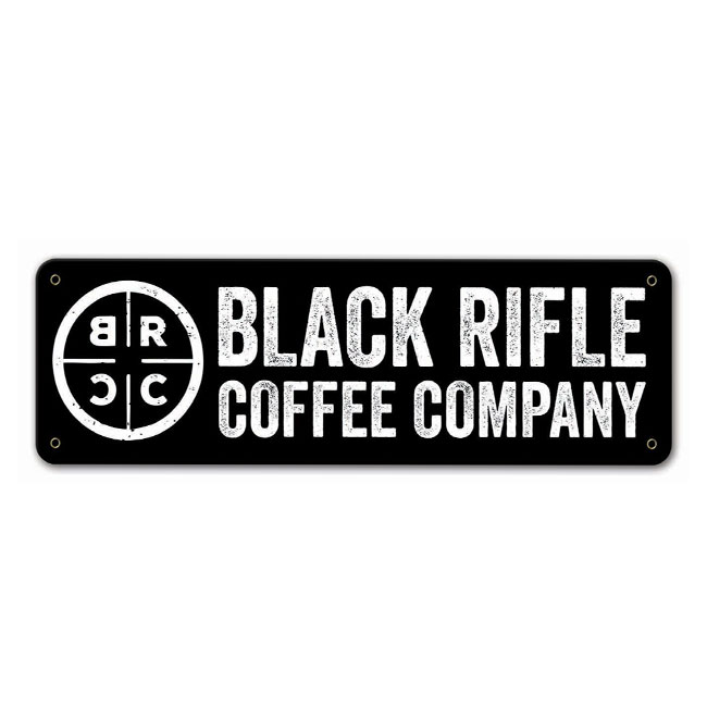 Custom Designed Sign For Black Rifle Coffee Comapny