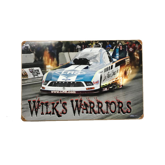 Custom Designed Sign For Tim Wilkerson Racing