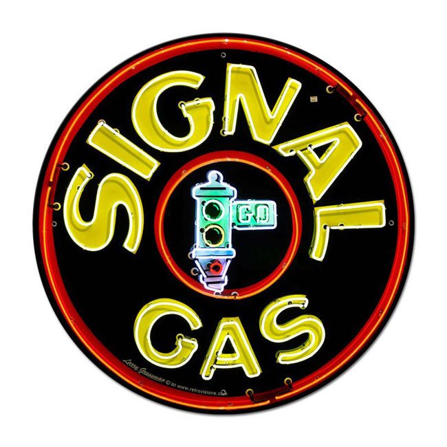 Signal Gas Sign