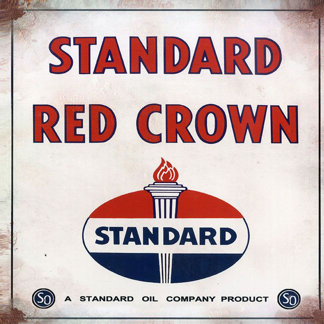 Standard Red Crown Sign