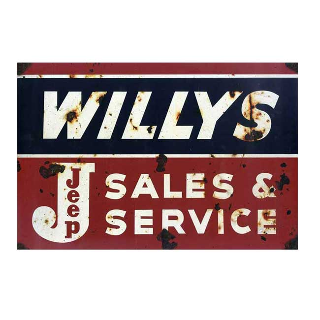 Willys Sign