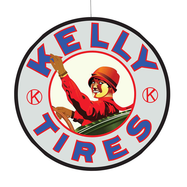 Kelly Tires Sign