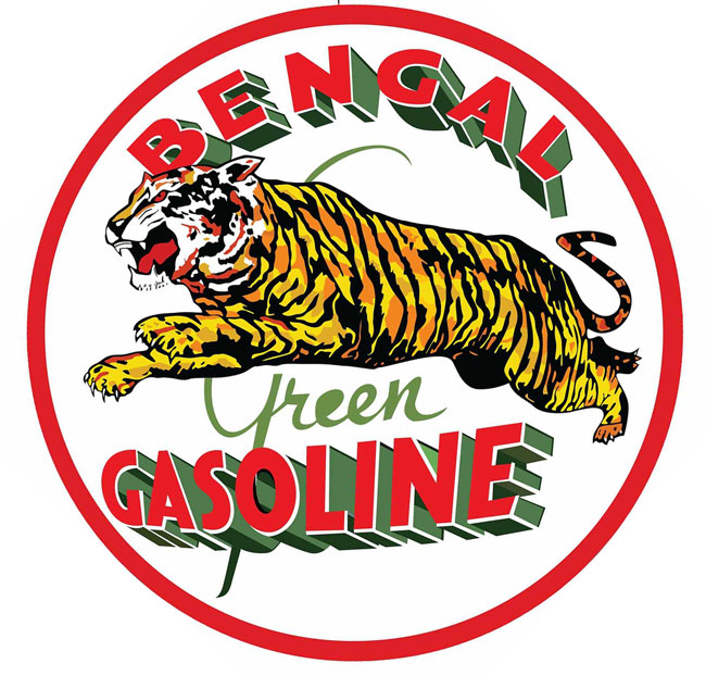 Bengal Gasoline Sign
