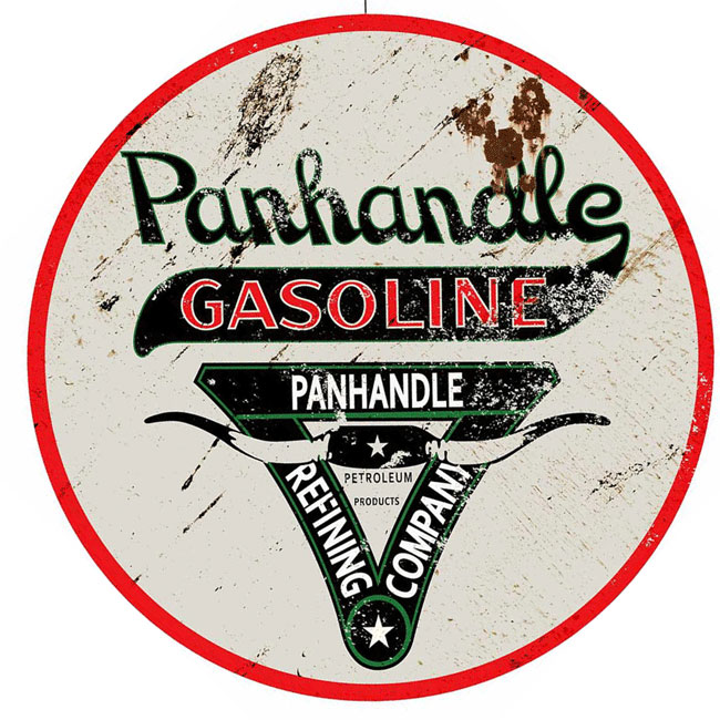 Panhandle Gas Sign