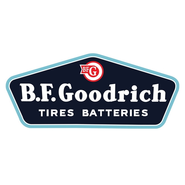 BF Goodrich Tire & Batteries Sign