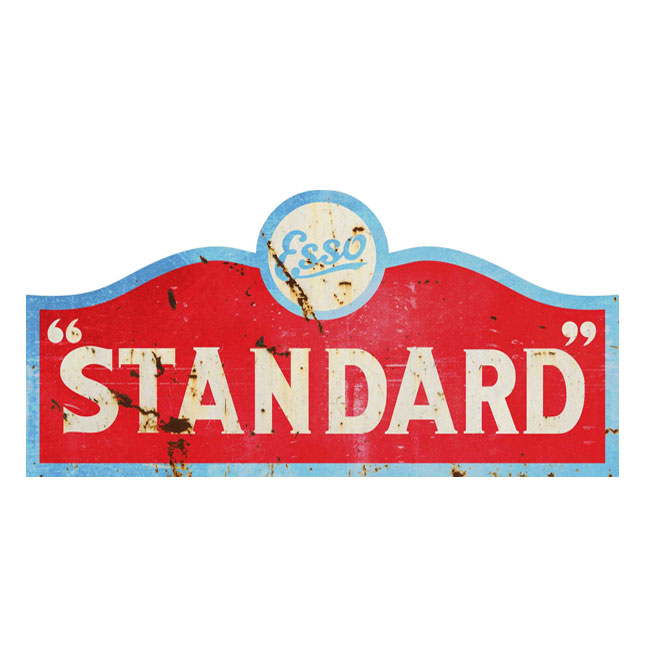 Esso Standard Gas Sign
