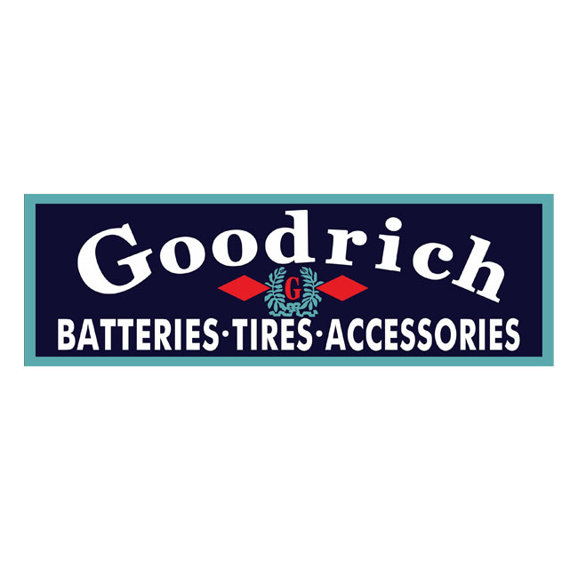 Goodrich Tire & Batteries Sign